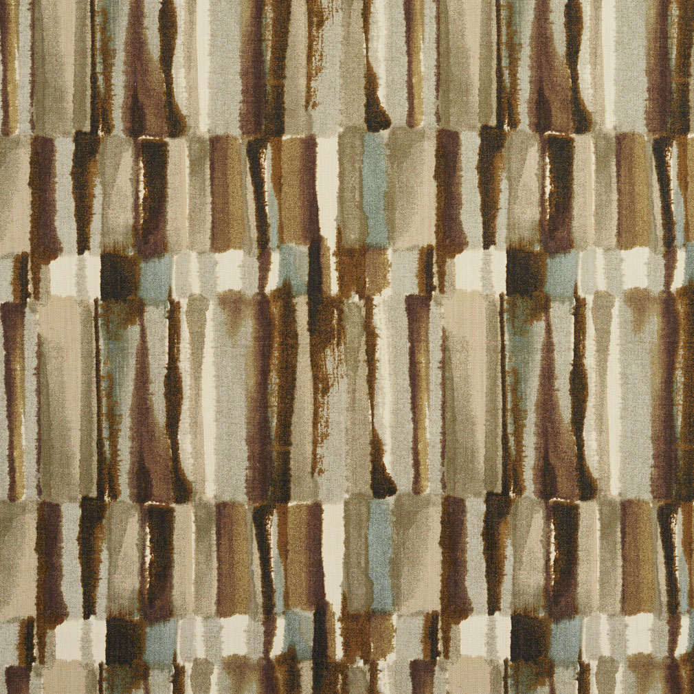 Brown And Grey Watercolor Abstract Bark Or Bamboo Print