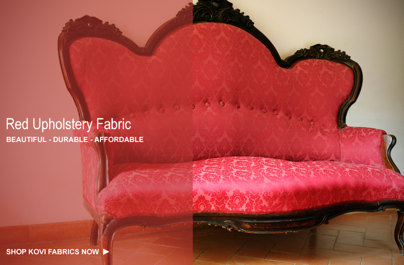 red.jpg & Red Upholstery Fabric