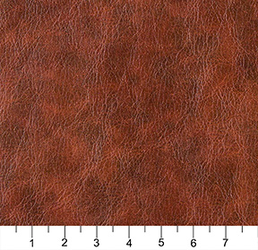 Saddle Brown Distressed Leather Hide Grain Vinyl